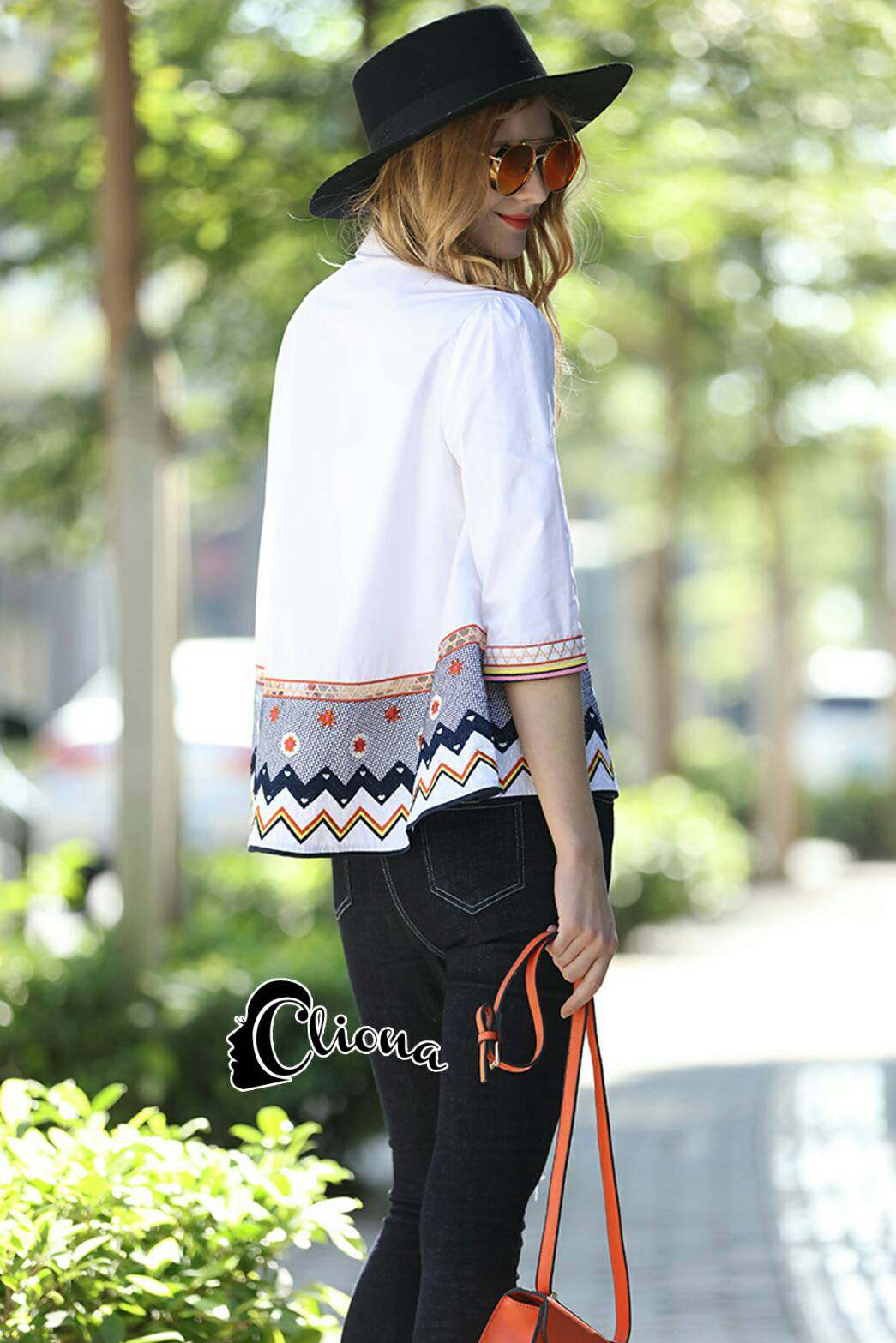 Candy Luxury Embroidered Shirt