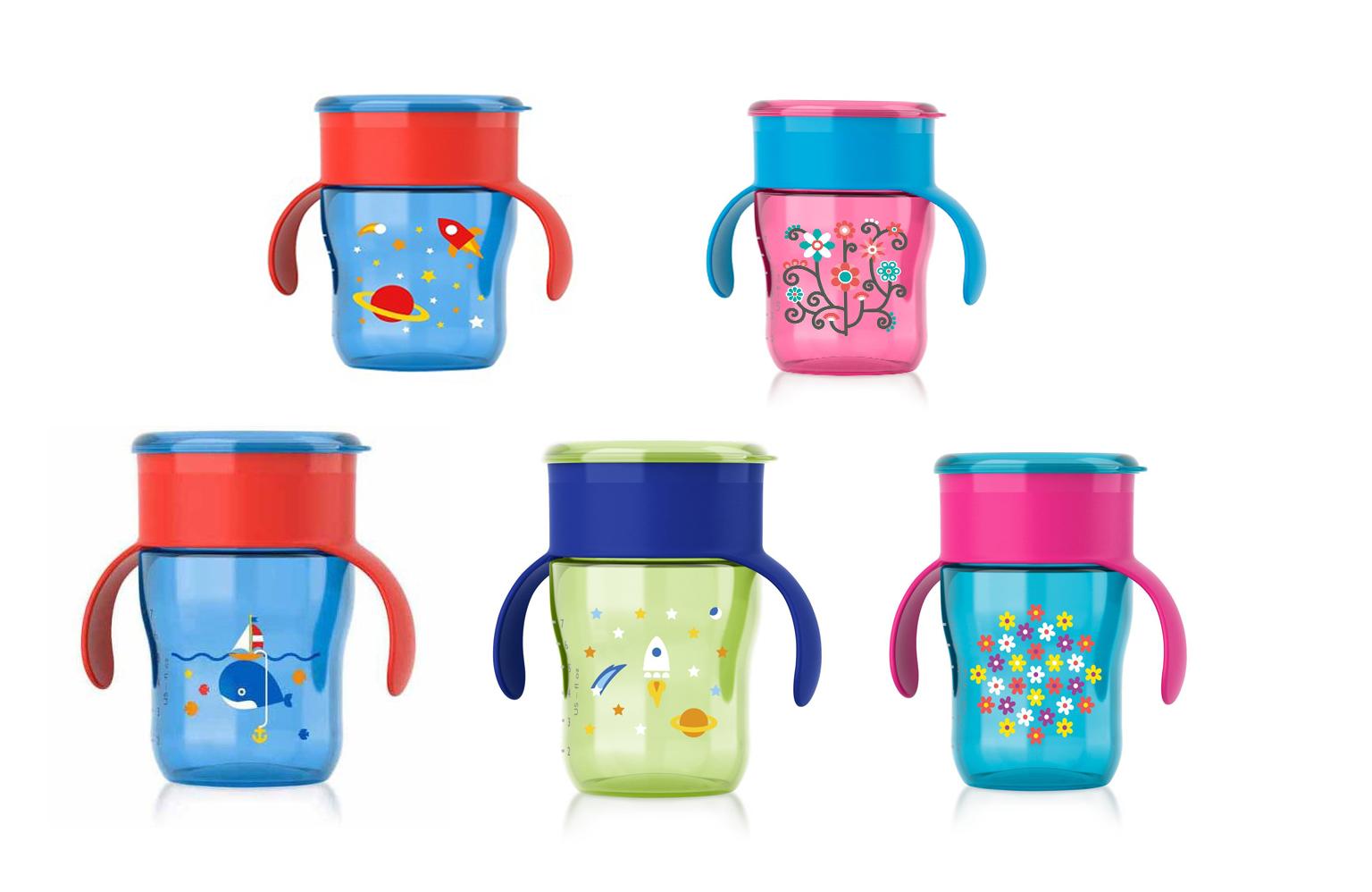 ถ้วยหัดดื่ม Philips AVENT BPA Free Natural Drinking Cup