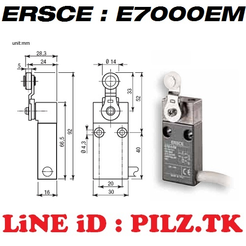 E7000EM Bremas ERSCE Limit Switch LiNE iD PILZ.TK