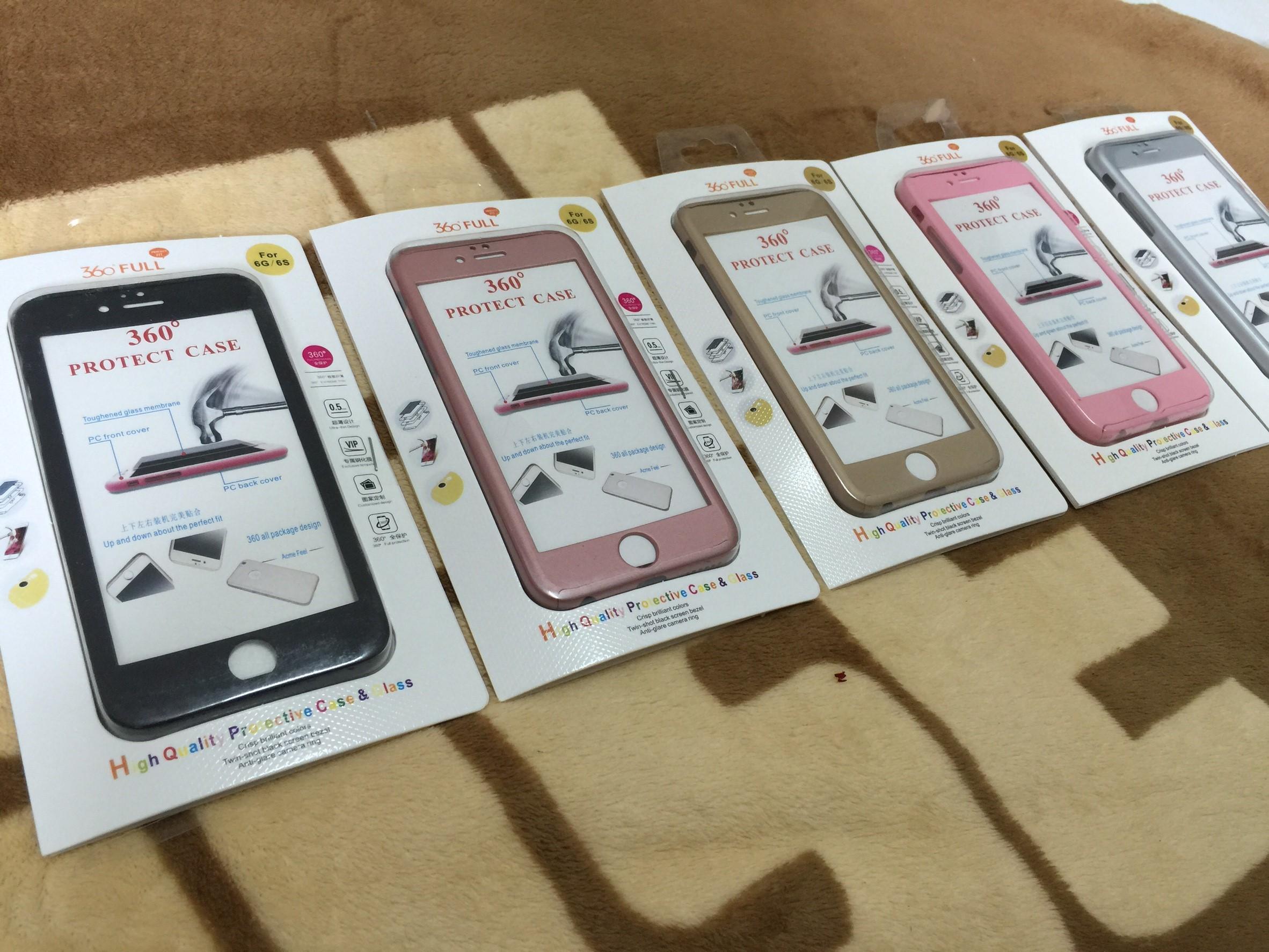 เคสประกบ 360องศา 3in1 iphone6/6s