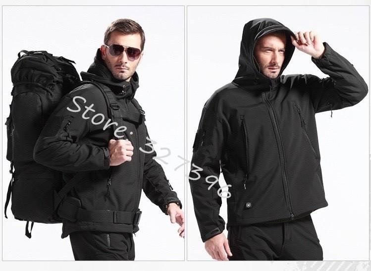 เสื้อ TAD GEAR Ranger Hoodie สีดำ