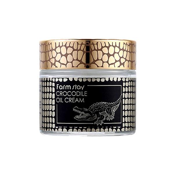 Farmstay Crocodile Oil Cream ครีมน้ำมันจระเข้สุดฮิตจากเกาหลี เคล็ดลับผิวสวย ใช้ดีแล้วบอกต่อโดยพระนางคลีโอพัตตรา