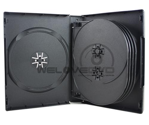 10 Discs DVD Case Black (10 Boxs)