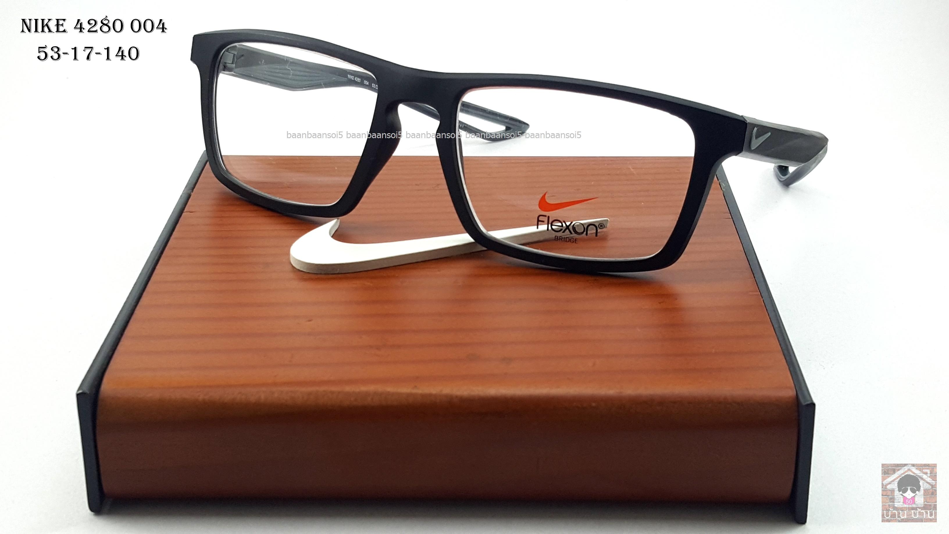 NIKE BRAND ORIGINALแท้ Flexon 4280 004 กรอบแว่นตาพร้อมเลนส์ มัลติโค๊ตHOYA ป้องกันรังสีคอม 5,200 บาท