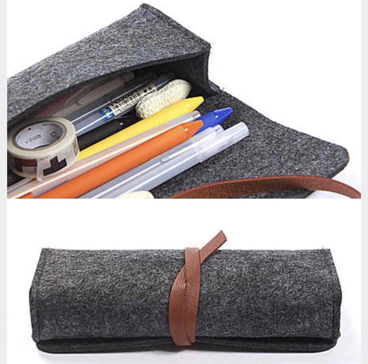 Pencils Bag : Dark gray