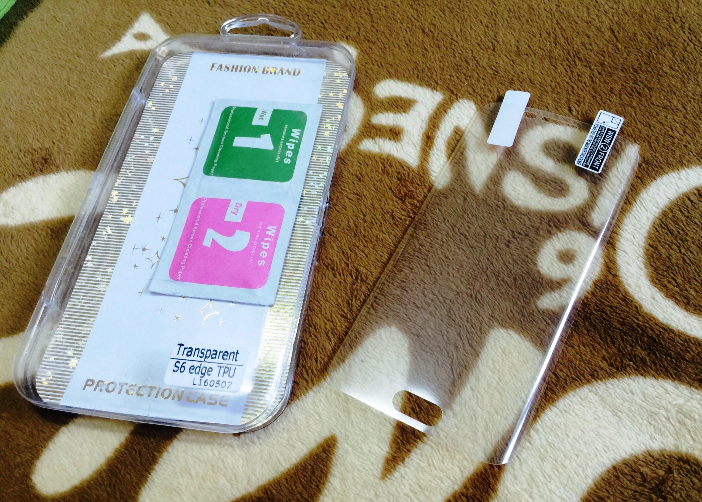 ฟิล์ม TPU เต็มจอ S6 edge