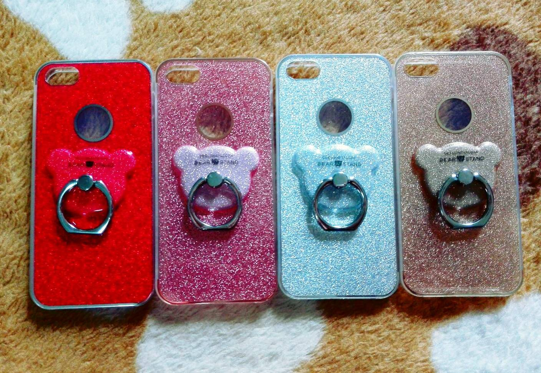 TPU กากเพชร (มีเเหวนตั้งได้) iphone6/6s