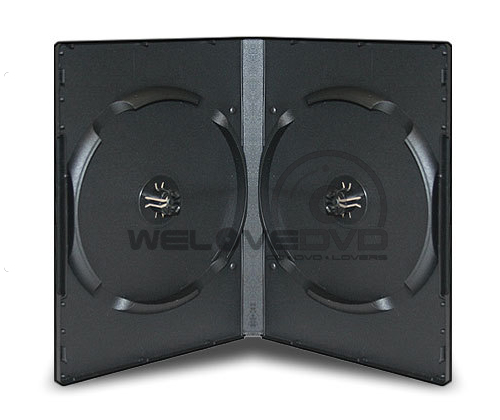 12 Disc DVD Case Black 10 (Boxs)