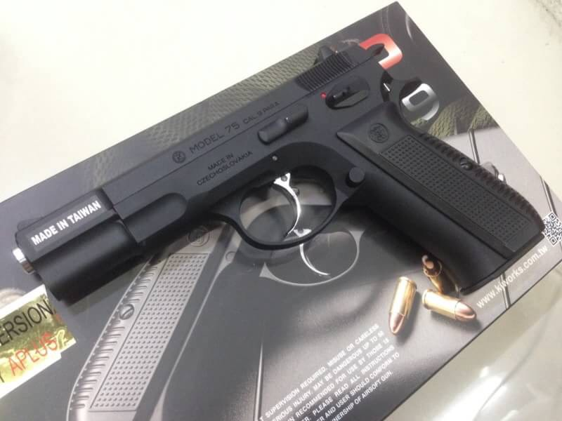 New.APLUS Custom KJW KP-09 CZ75 with Marking (Gas+co2 Version) ราคาพิเศษ