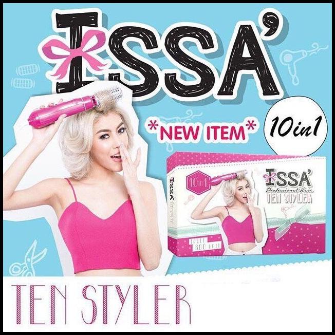 NEW ISSA TEN STYLER 10 in 1 ชุดไดร์แต่งผม สวยเก๋ไม่ซ้ำ 7 วัน 7 สไตล์ 10 in 1 ราคาถูก ปลีก/ส่ง โทร 089-778-7338-088-222-4622 เอจ