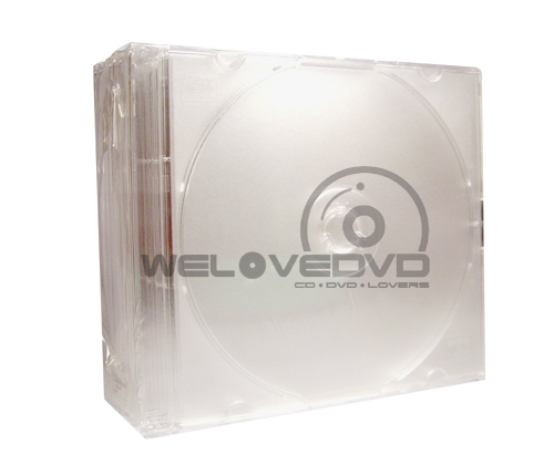 1 CD Slim Jewel Case Clear (10 pcs)