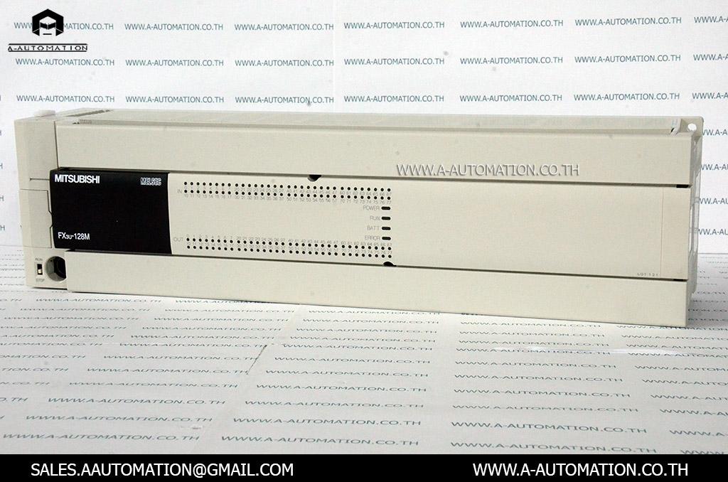 PLC MODEL:FX3U-128MR/ES [MITSUBISHI]