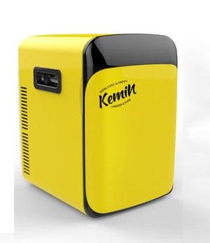 ตู้เย็นเล็ก ขนาด 10L (เหลือง)