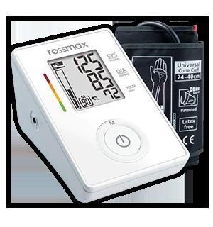 เครื่องวัดความดันโลหิต ยี่ห้อ Rossmax CF155f รหัส MEL09
