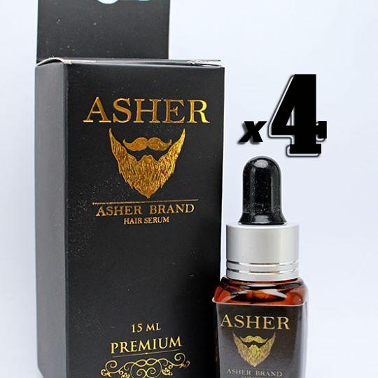 Asher สูตร Premium 15 ml. 4 ขวด