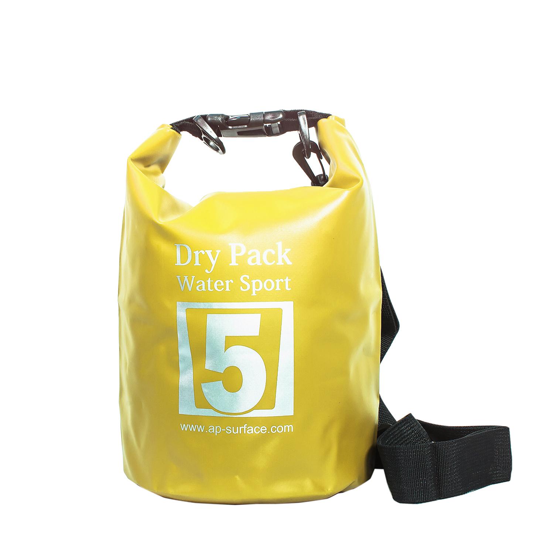กระเป๋ากันน้ำ Dry pack 5L-สีเหลือง