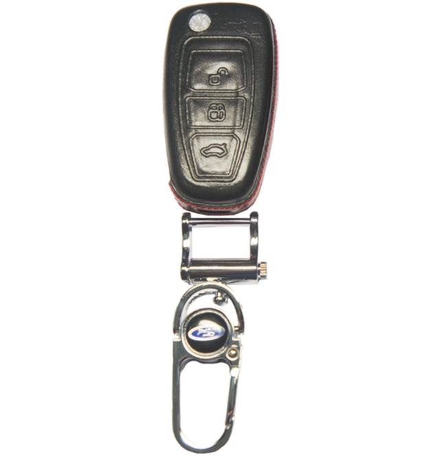 WASABI กุญแจซองหนัง 4DX Luxurious Ford Ranger (ดำ)