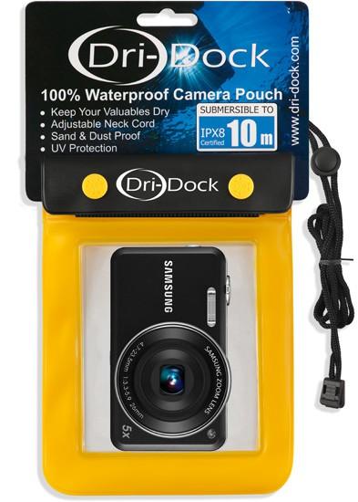 Camera Waterproof Pouch XL - สีเหลือง