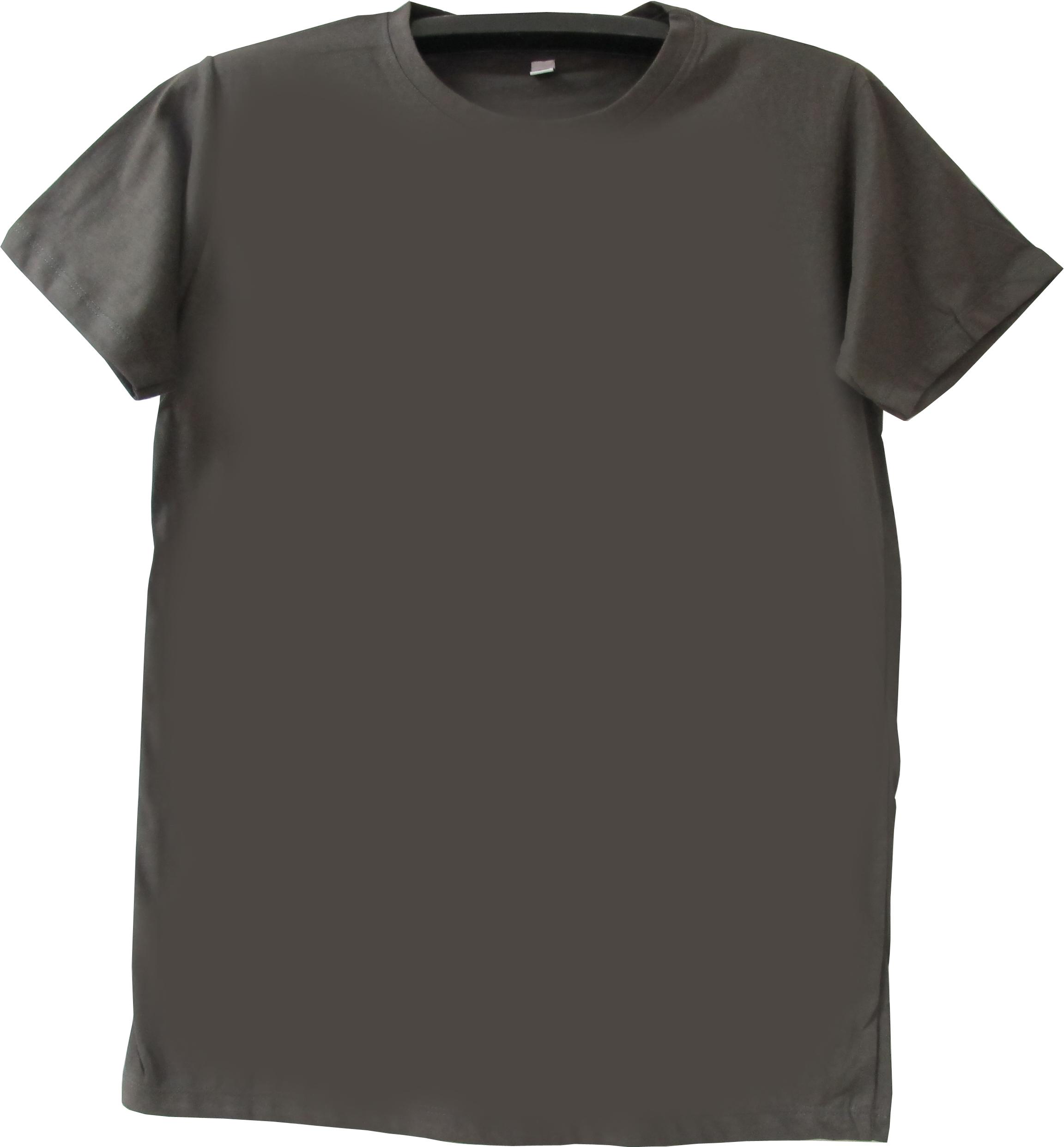 COTTON100% เบอร์32 เสื้อยืดแขนสั้น คอกลม สีเทาดำ