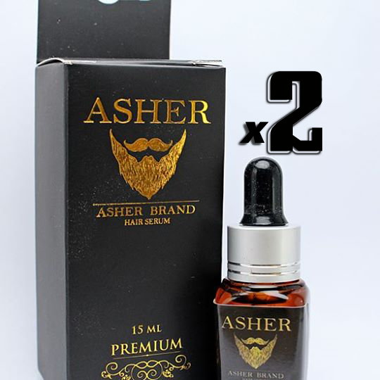 Asher สูตร Premium 15 ml. 2 ขวด