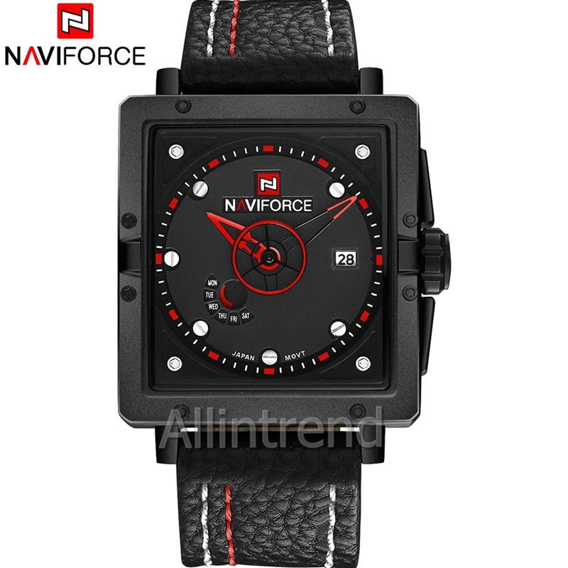 นาฬิกา Naviforce รุ่น NF9065M สีแดง/ดำ ของแท้ รับประกันศูนย์ 1 ปี ส่งพร้อมกล่อง และใบรับประกันศูนย์ ราคาถูกที่สุด
