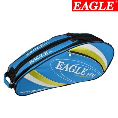 กระเป๋า Eagle ใบกลางสีฟ้าลายเขียว