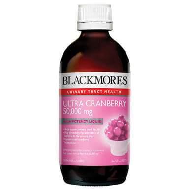 CRANBERRY BLACKMORES แบล็คมอร์ แครนเบอรี่ชนิดน้ำ 50,000 มก.