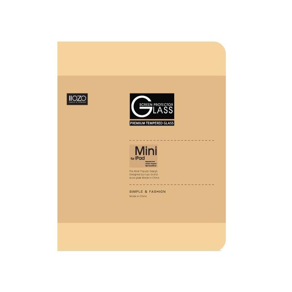 IIOZO ฟิล์มกระจกกันรอยนิรภัย สำหรับ iPad mini 4 2.5 C 0.44mm