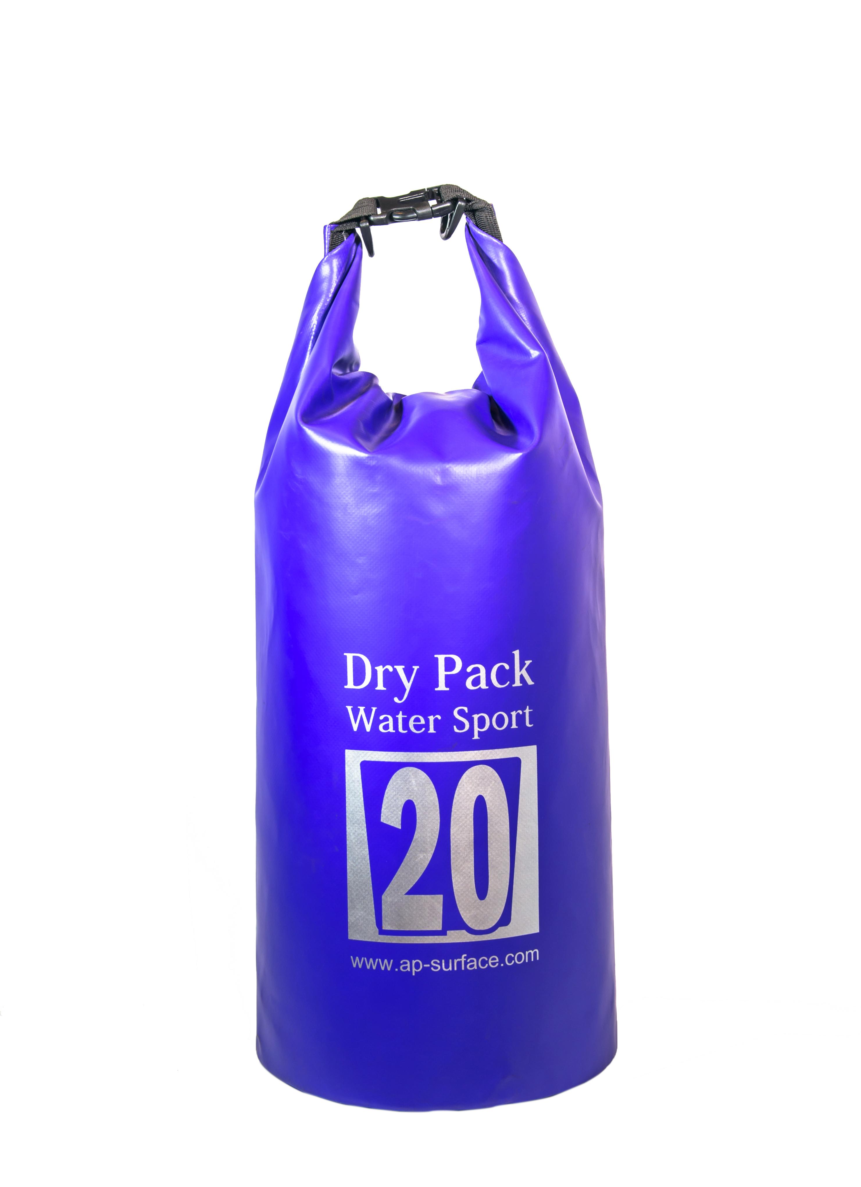 กระเป๋ากันน้ำ Dry pack 20L-สีน้ำเงิน