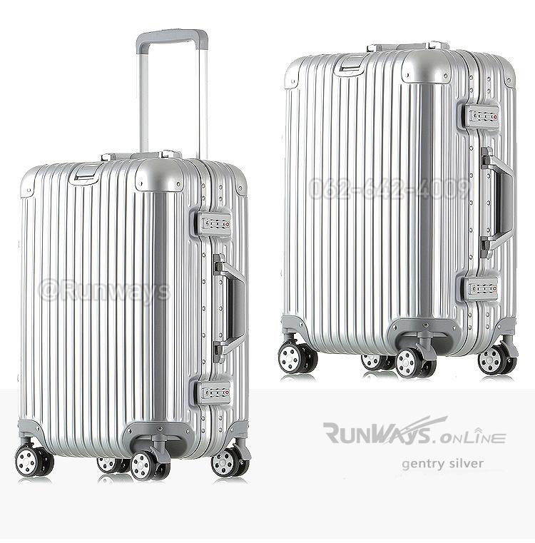 กระเป๋าเดินทาง By Runways สี Gentry Silver