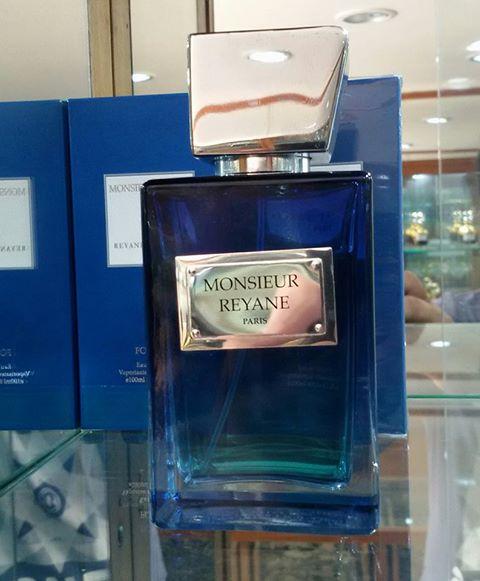น้ำหอม Monsieur Reyane Bleu Eau de Toilette Spray for Men, New in sealed box