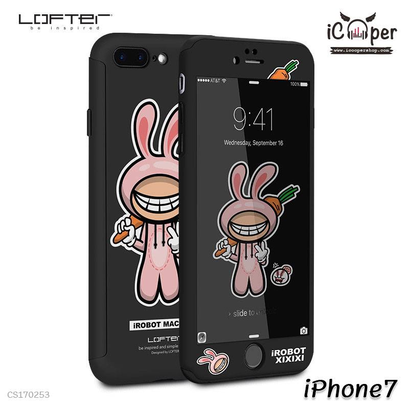 LOFTER iRobot Full Cover - Baseball Bunny (iPhone7)