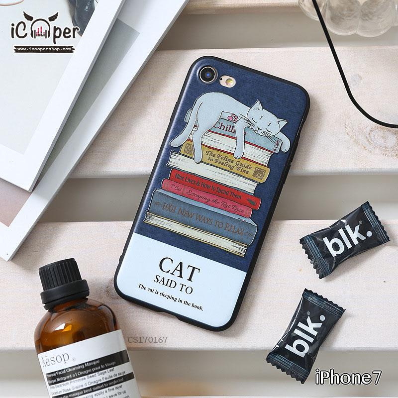 3D Case - Sleeping cat (iPhone7)