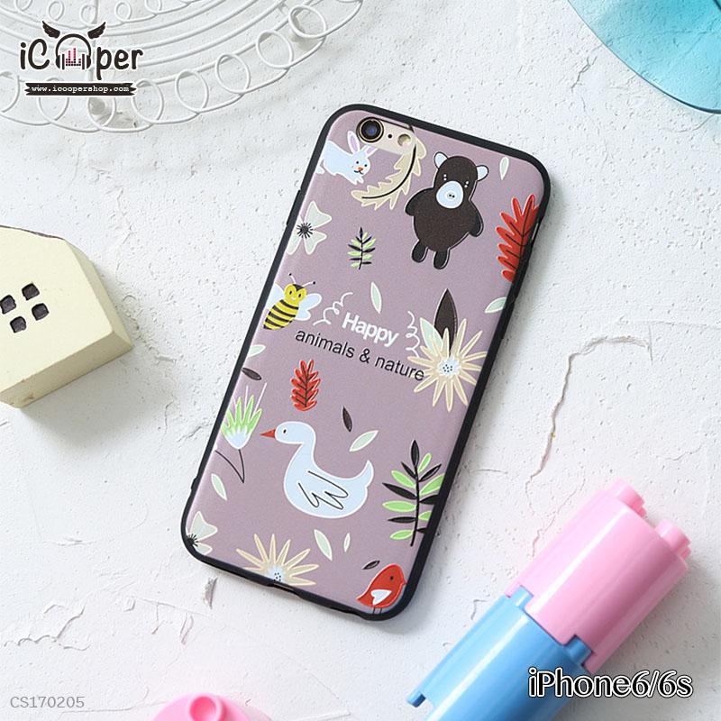3D Case - Happy Animals & Nature (iPhone6/6s)