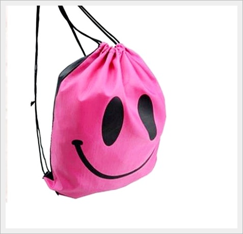 กระเป๋าเป้สะพายกันน้ำ สีชมพู