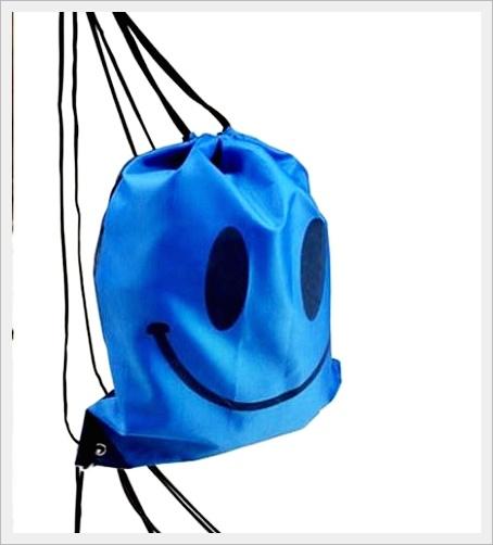 กระเป๋าเป้สะพายกันน้ำ สีฟ้า