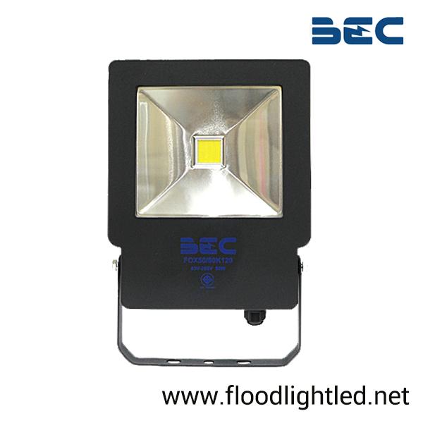 สปอร์ตไลท์ LED 50w รุ่น FOX ยี่ห้อ BEC (แสงขาว)