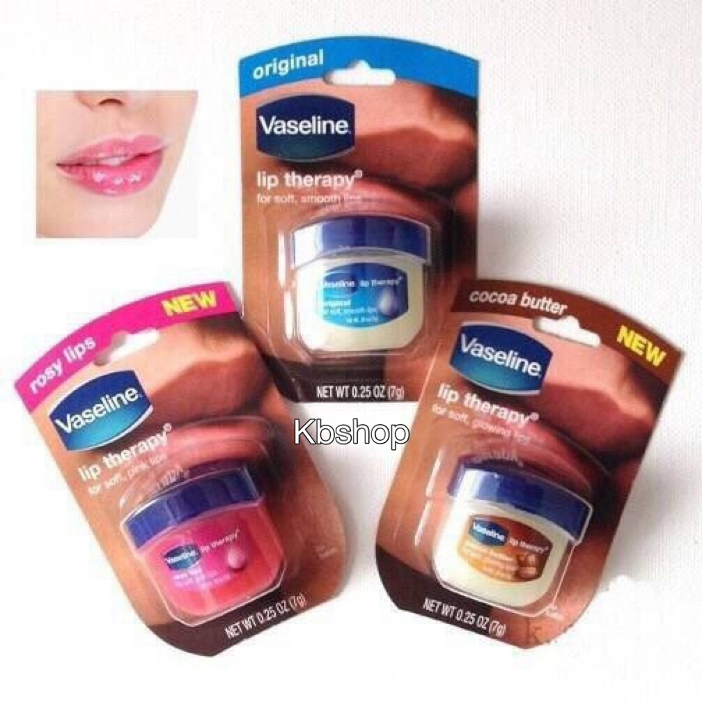 #Vaseline Lip Therapy 7 g. มี 3 แบบ