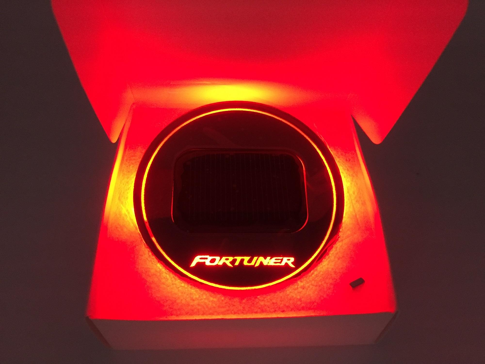 Fortuner Red สีแดง