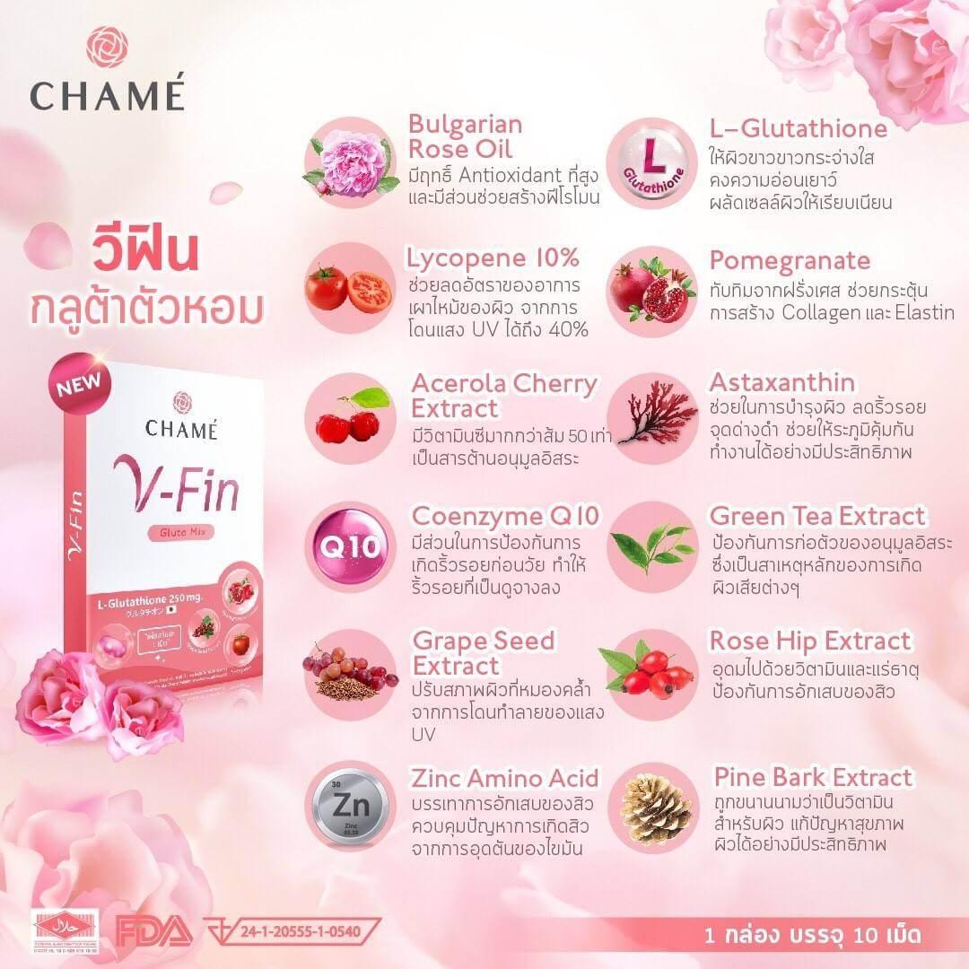 V-Fin pantip, ชาเม่ วีฟิน, วีฟิน chame