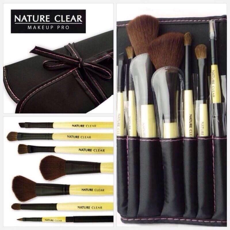 #Nature clear 7 ชิ้นพร้อมกระเป๋า