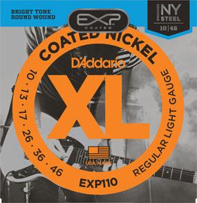 สายกีตาร์ไฟฟ้า D'Addario EXP110 Coated
