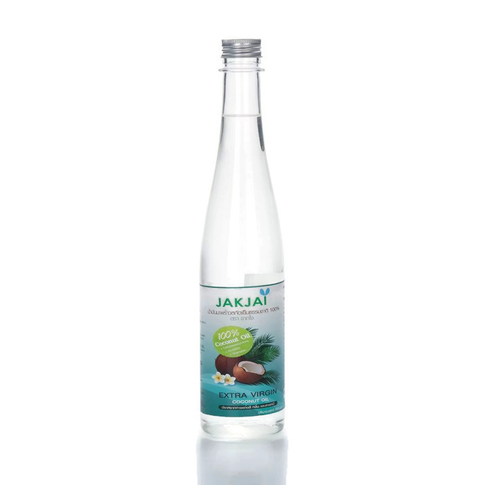 JAKJAI Organic Coconut Oil (น้ำมันมะพร้าวสกัดเย็นแท้ 100%) 500 ml.