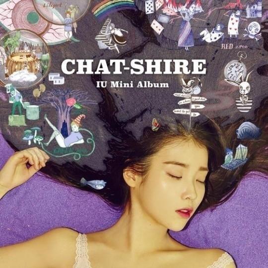 IU 4th mini album Chat-Shire CD+Poster