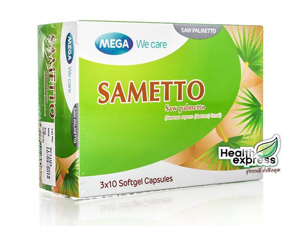 Mega We Care Sametto เมก้า วี แคร์ ซาเมทโต้ บรรจุ 30 แคปซูล