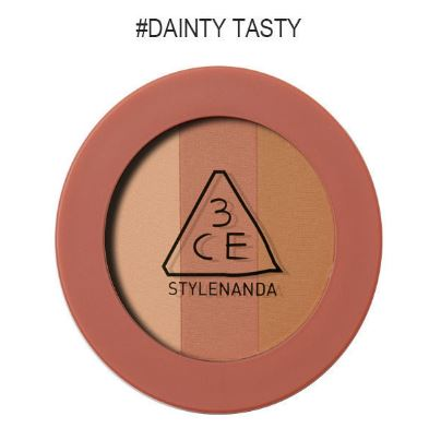 3CE MOOD RECIPE TRIPLE SHADOW สี DAINTY TASTY