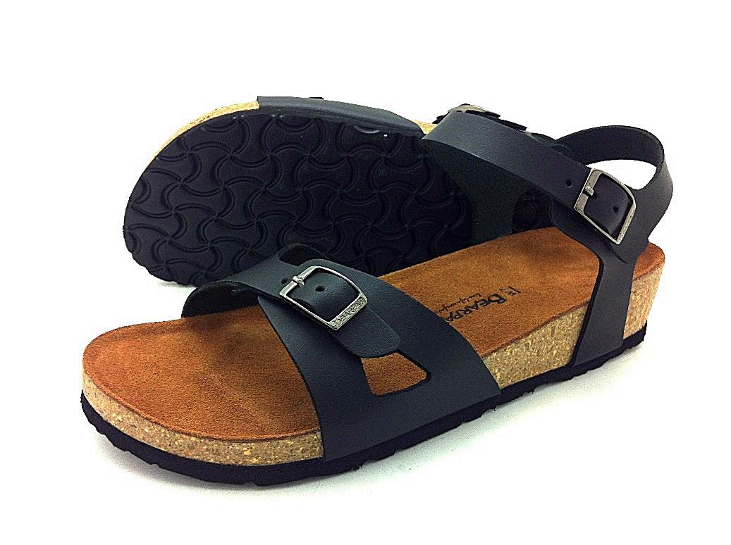 Cork sole leather sandal ( lady) สำเนา