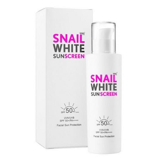 SNAIL WHITE SUNSCREEN SPF50+ PA+++ กันแดดสแนล