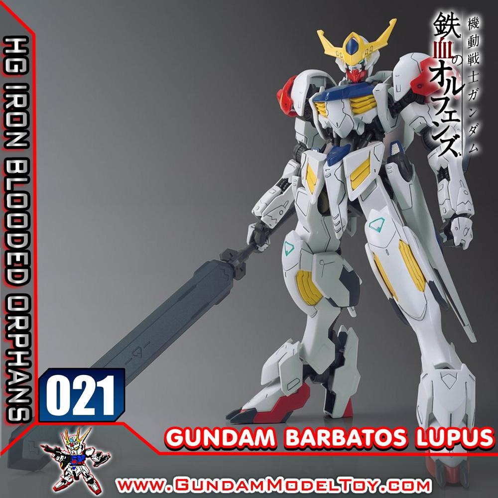 HG 1/144 021 GUNDAM BARBATOS LUPUS กันดั้ม บาร์บาทอส ลูปัส