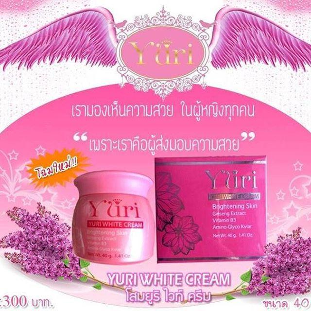 Yuri White Cream (ครีมโสมยูริ)